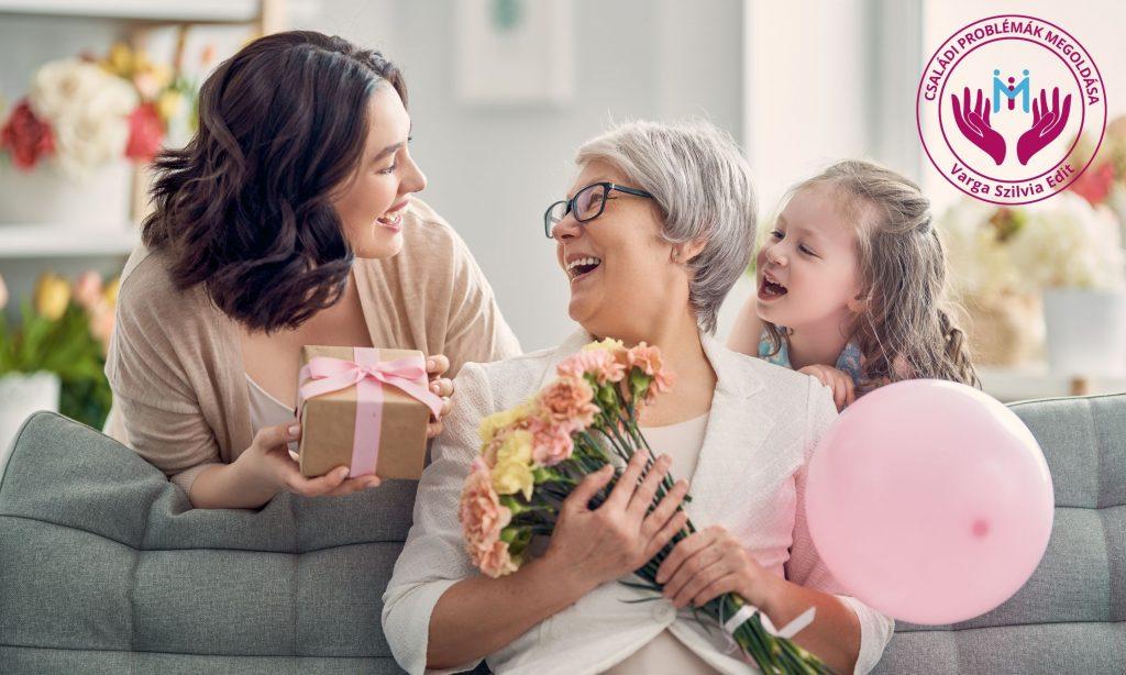 anyák napja, köszöntsd anyut, nagymamát, dédit